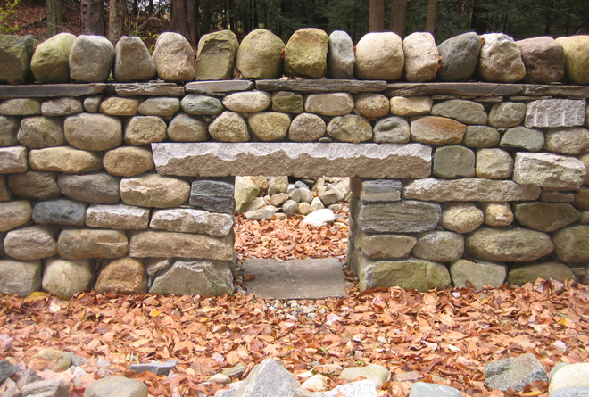 Dry stone DSWA test with Lunkie