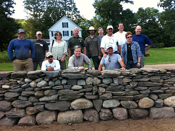 fall 2011 dry stone wall workshop
