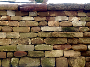 Dry Stone Wall built by Kim Coggin