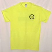 The Stone Trust High Vis Green Front T-shirt