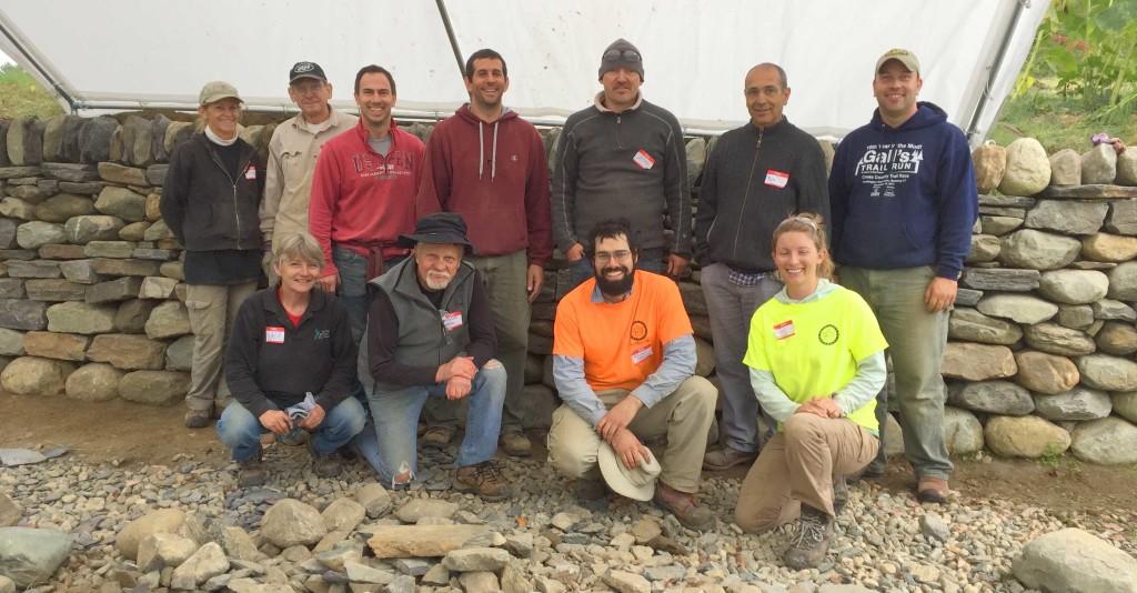 Dry Stone Retaining Wall Workshop