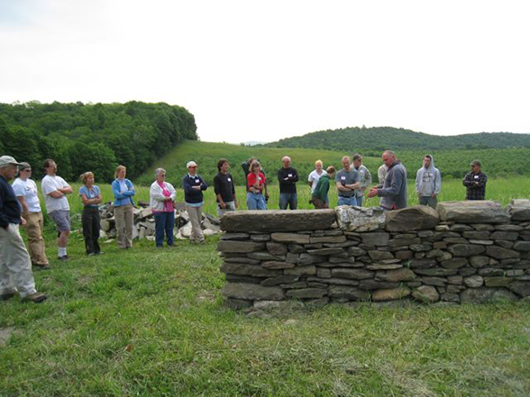 may 2010 dry stone wall workshop