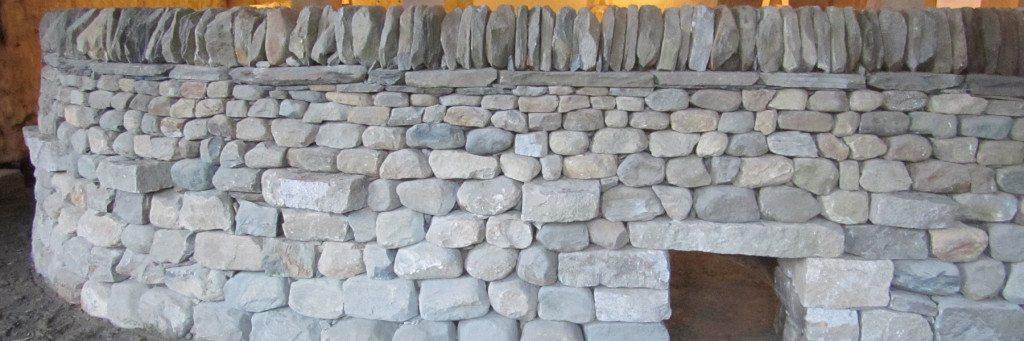 Dry stone fence, rock wall, stone wall, DSWA Passing Level 3 part A Wall