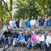 Workshop rebuilding old field wall in Vermont