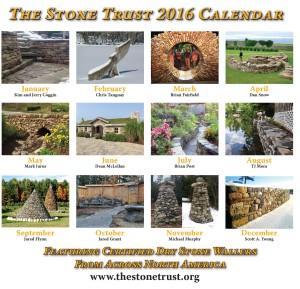 The Stone Trust Calendar - Back Cover