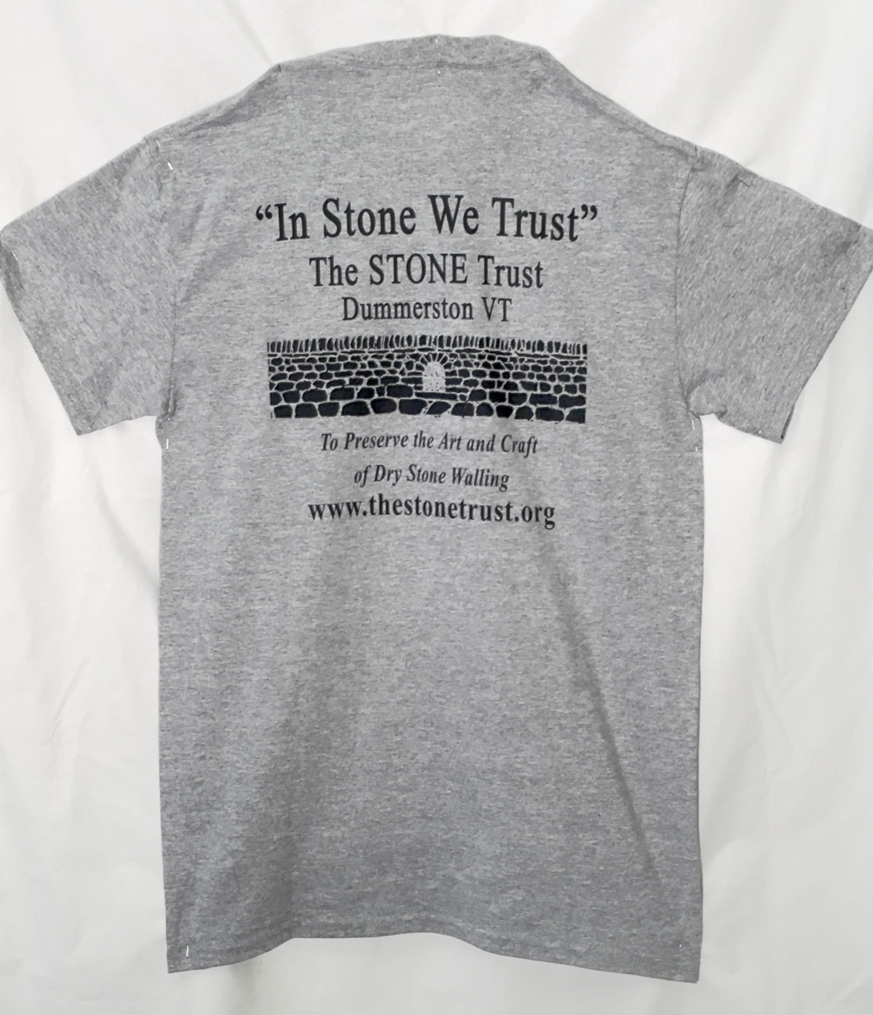 0b48b2e30ef810 dry stone walling t-shirt at The Stone Trust