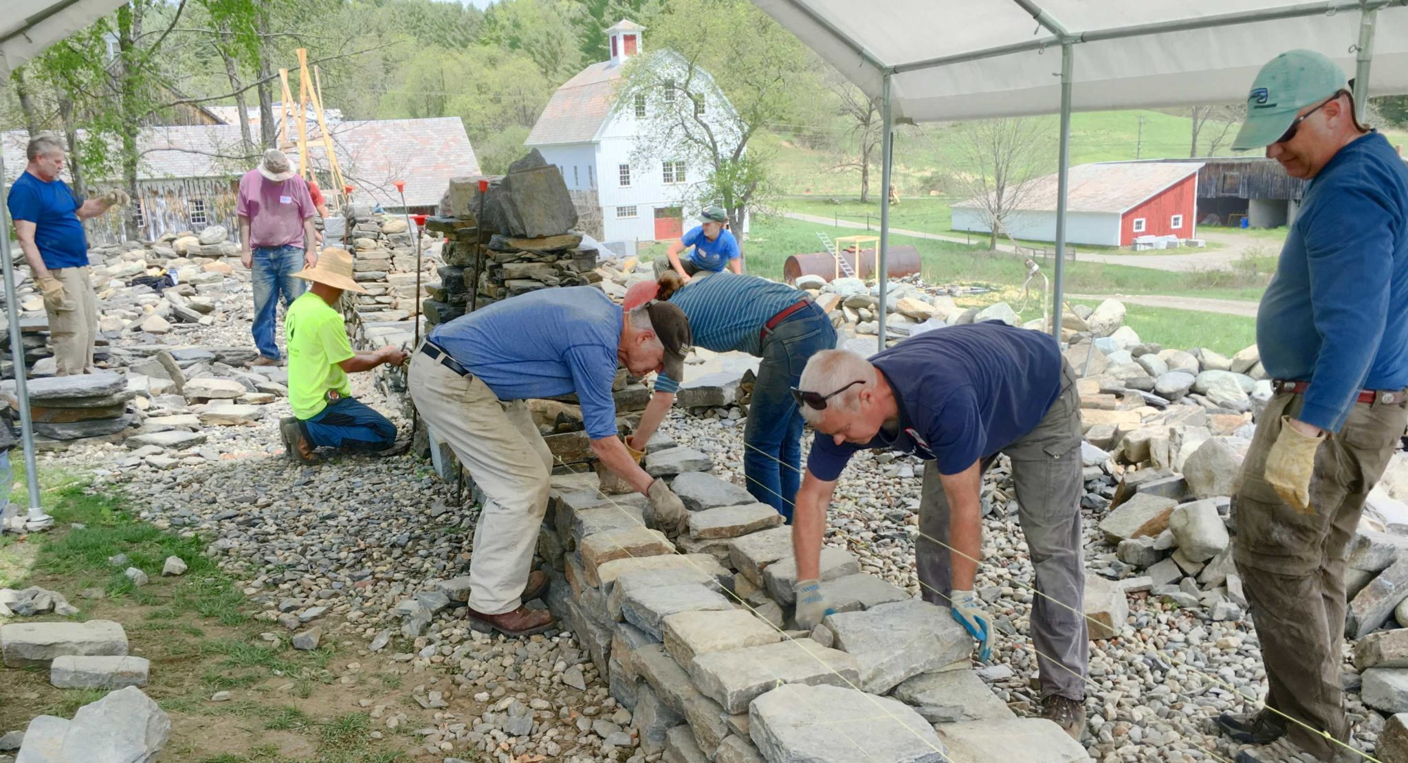 Two Day Dry Stone Walling Course at The Stone Trust