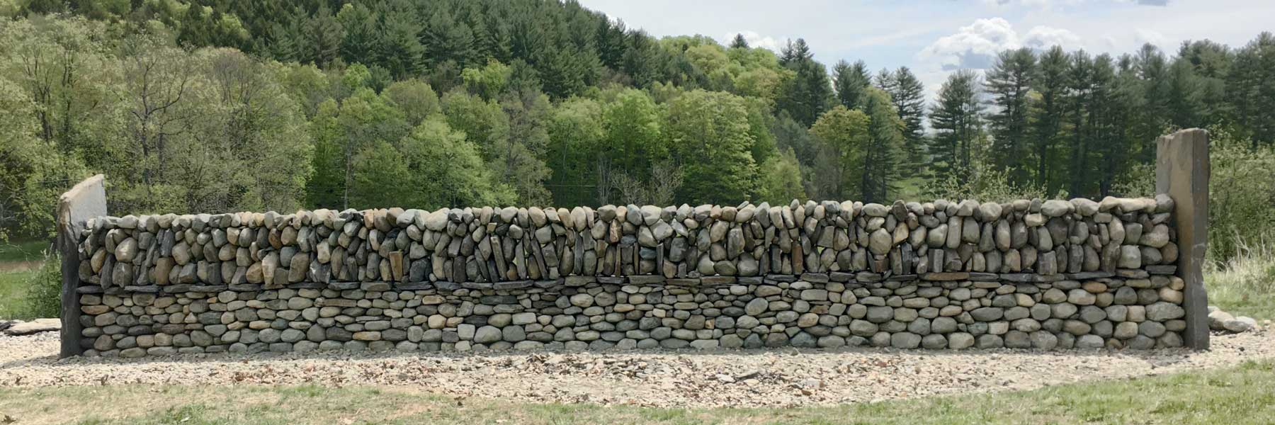 stone wall design and specifications - Landscape Wall Design