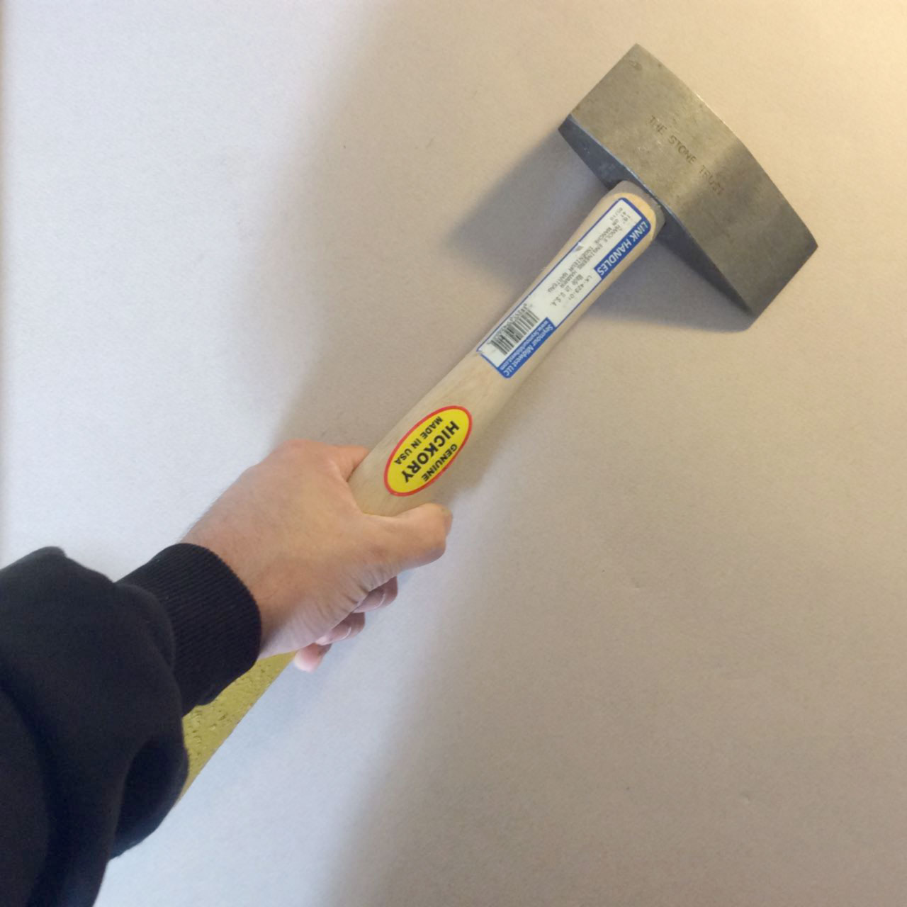 Trow & Holden 2lb Steel Trimming Hammer (Vertical Blade)