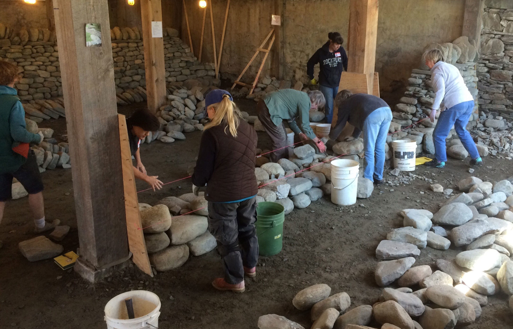 Women's Dry Stone Walling Workshop