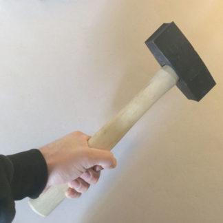 Micon double concave 3lb stone hammer