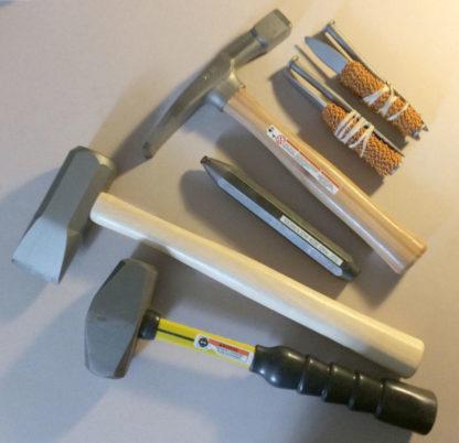 Basic carbide walling set