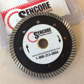 "Sencore 4.5"" turbo diamond blade"