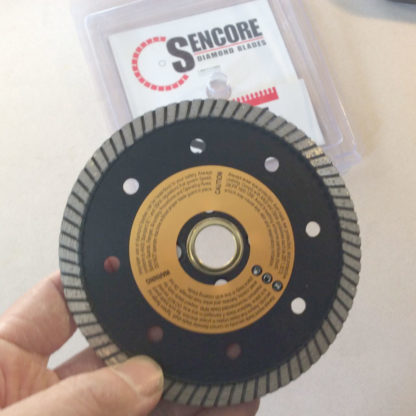 "Sencore 4.5"" turbo diamond blade"