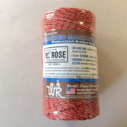 W. Rose Premium braided 216 lb test mason line