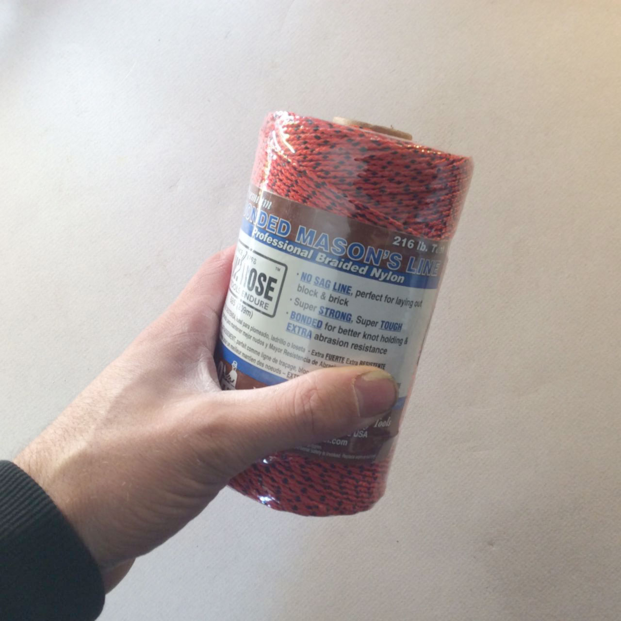 W. Rose Premium braided 216 lb test mason line