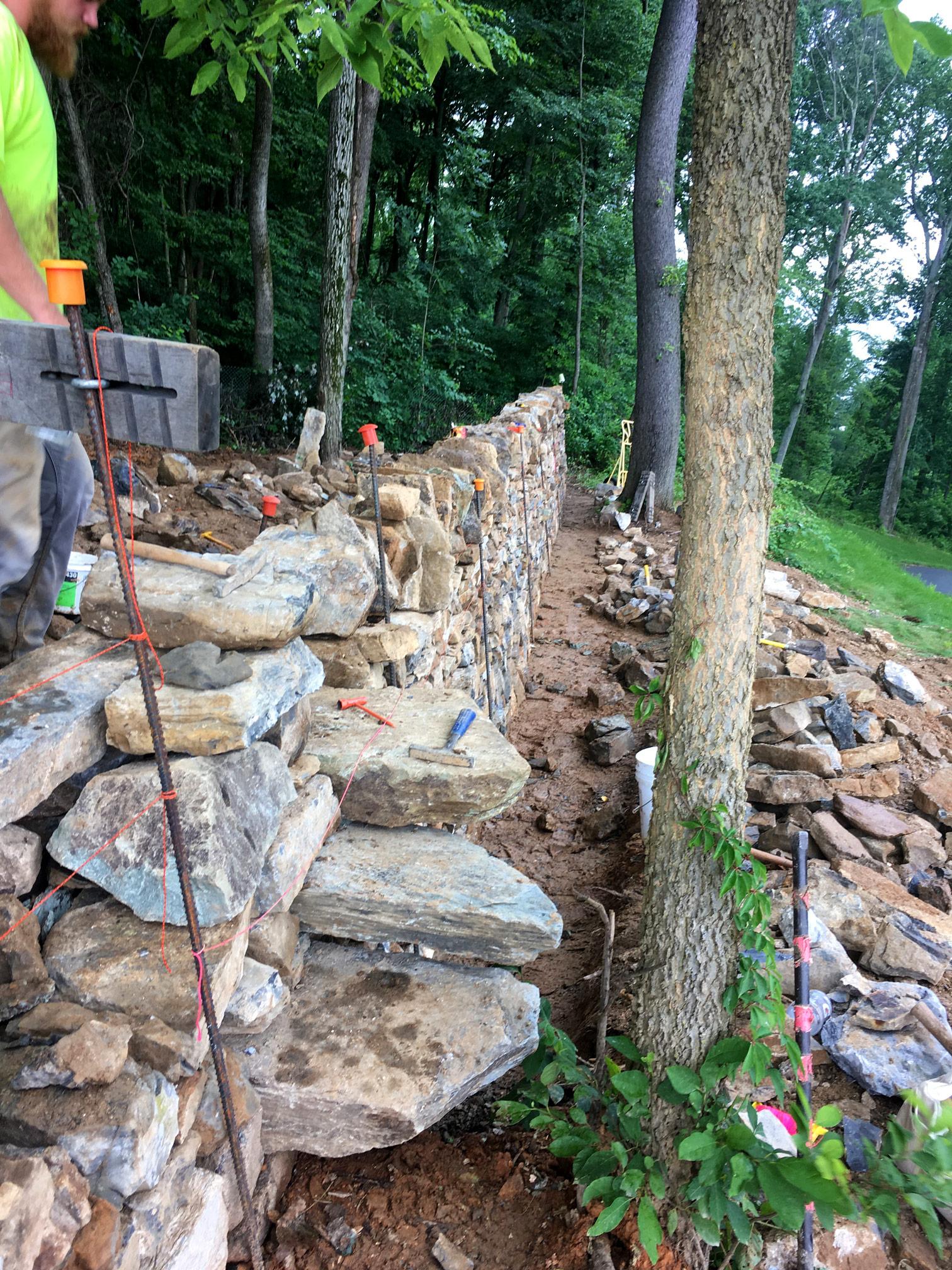 Fairfield Monastery Project In Progress