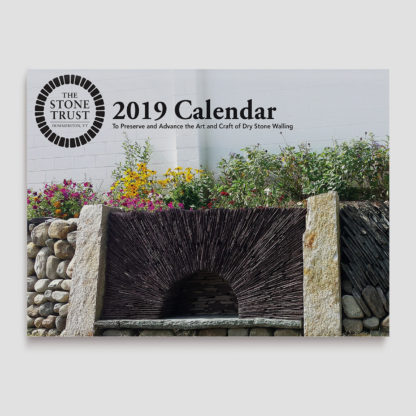2019 Stone Trust Wall Calendar Cover