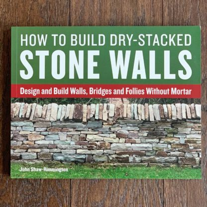 How To Build Dry-Stacked Stone Walls Front Cover