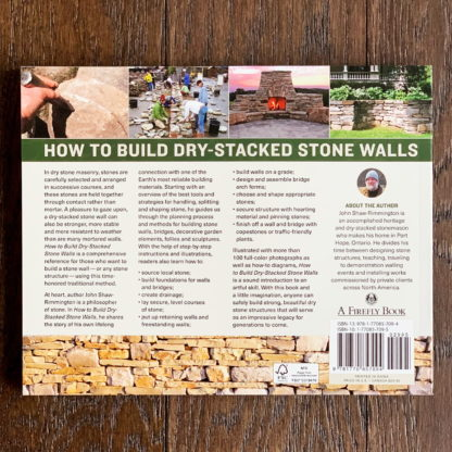 How To Build Dry-Stacked Stone Walls Back Cover