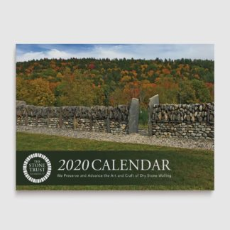 The Stone Trust 2020 Wall Calendar Cover