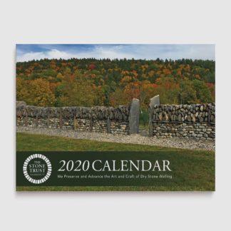 The Stone Trust 2020 Wall Calendar Cover