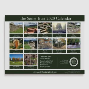 The Stone Trust 2020 Wall Calendar Back Cover