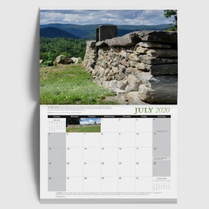 The Stone Trust 2020 Wall Calendar Inside Page