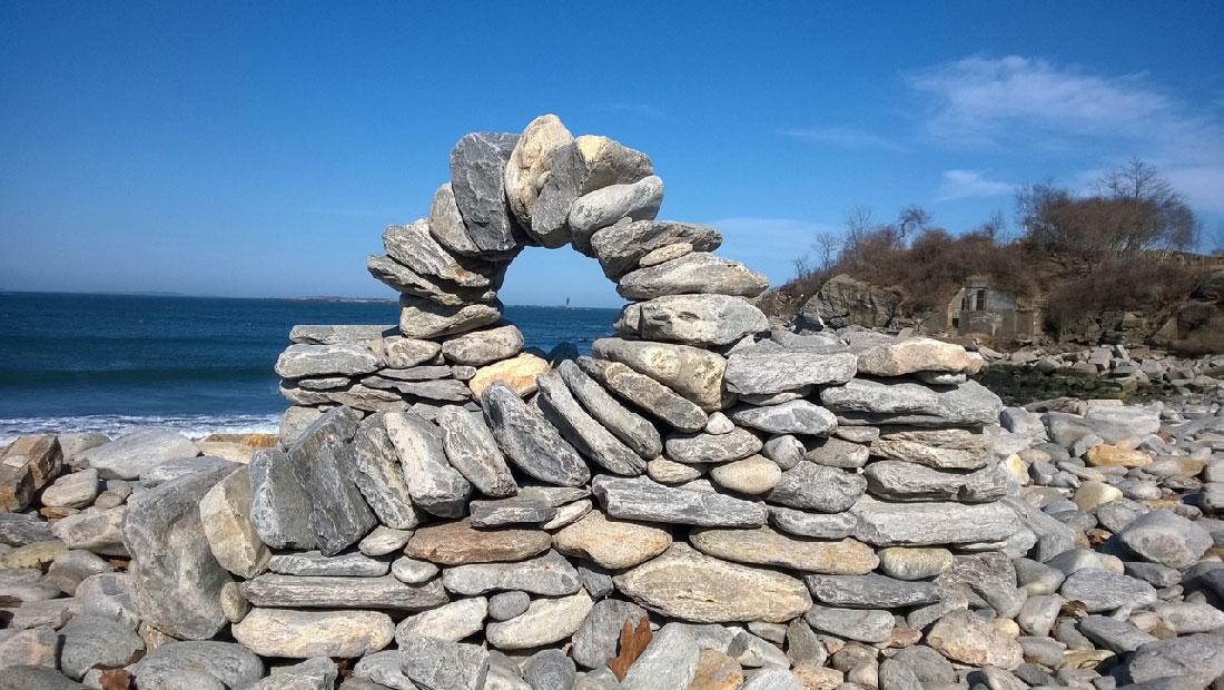 Beach Sculpture by Dan Morales-Walsh