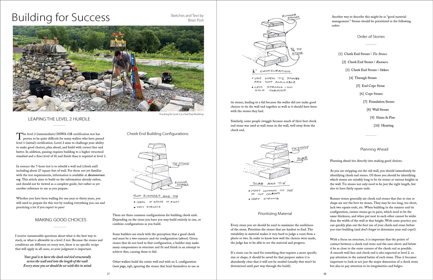Building for Success Article by Brian Post