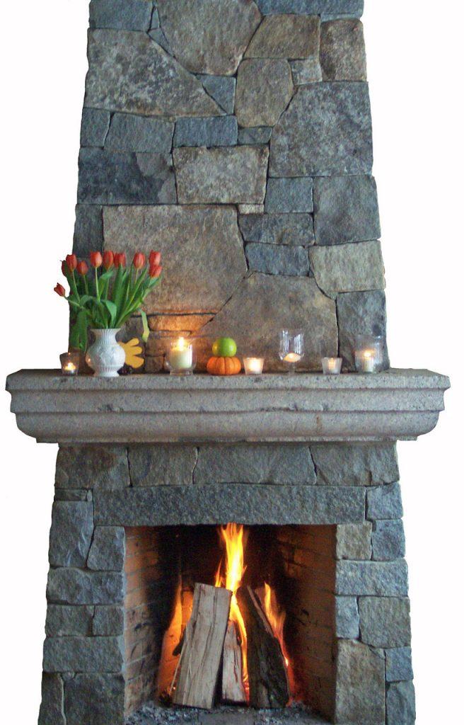 Fireplace by Atlas Stoneworks