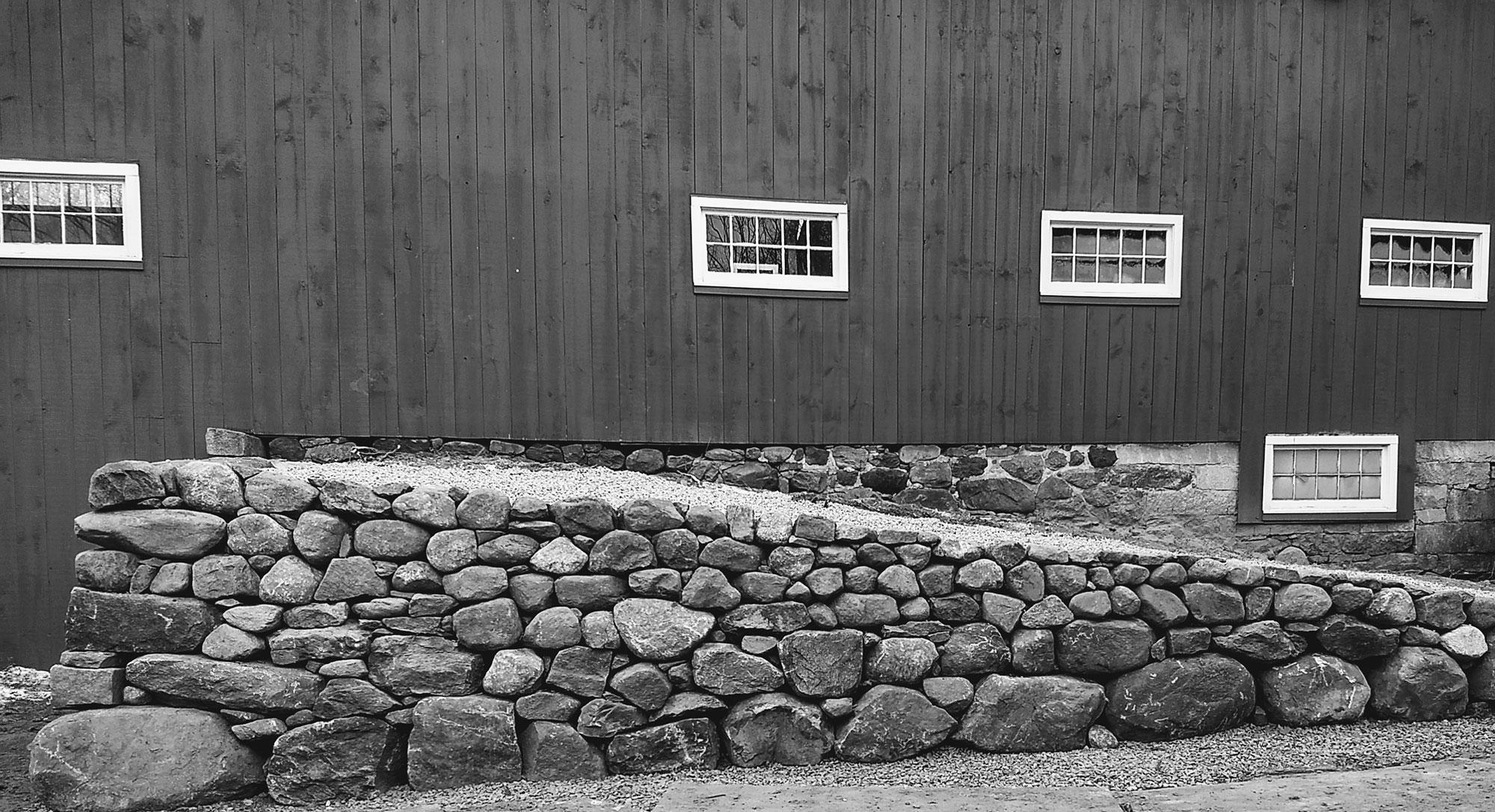 Historic Barn Ramp Restoration by John Sandri