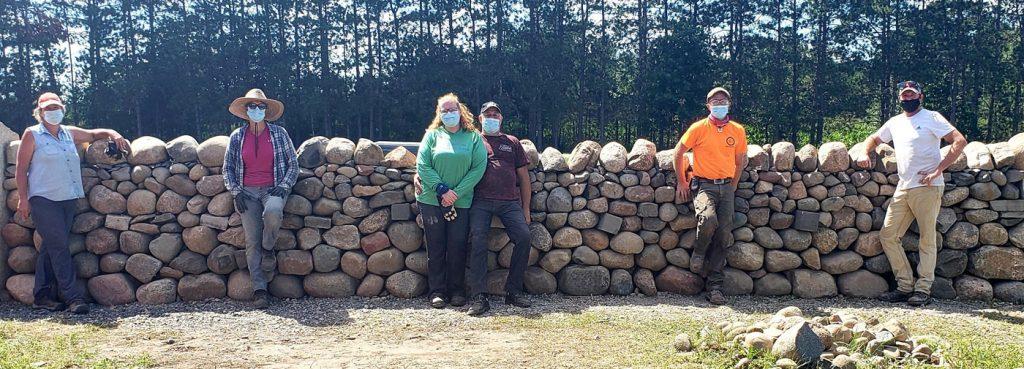 Stone Trust Dry Stone Walling Workshops in Minneapolis, MN