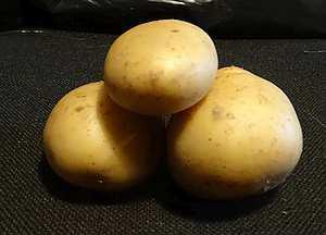 Figure 8, Steps acting as a pivot, potato example