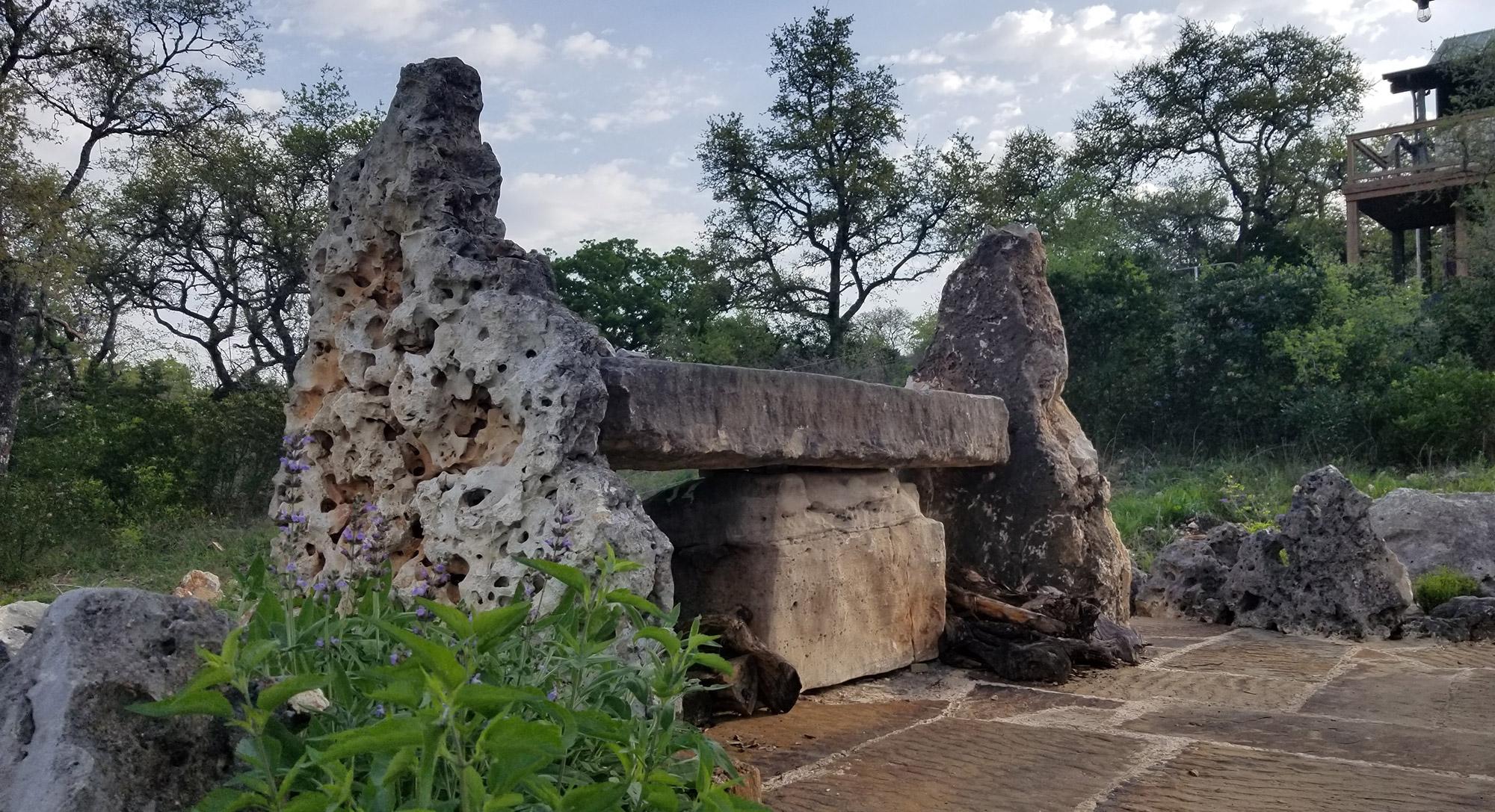 Stone Bar by Lynn Herrmann