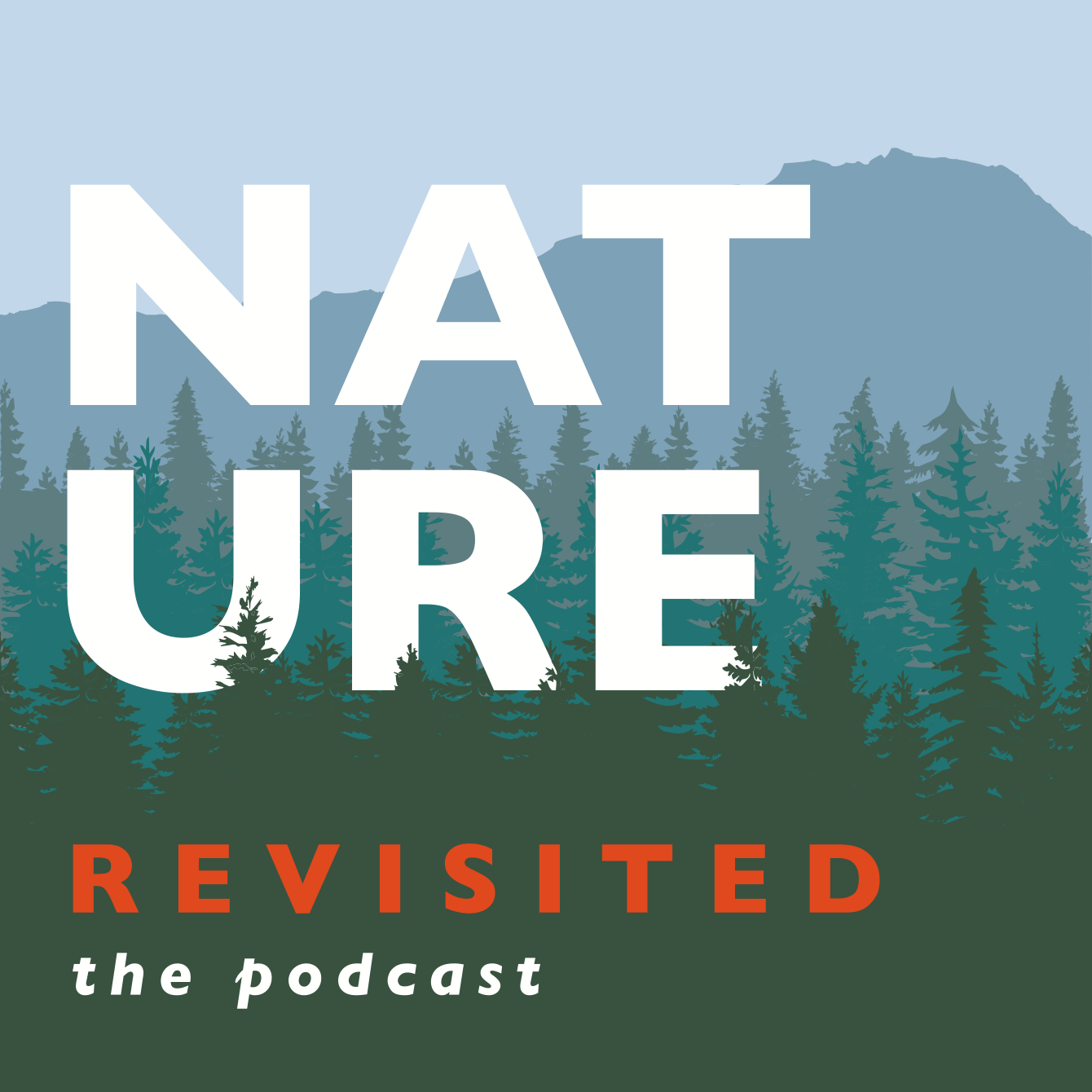 Nature Revisited, the podcast logo