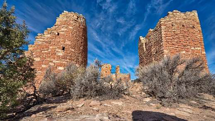 Cutthroat Castle Group at the Hovenweep National Monument