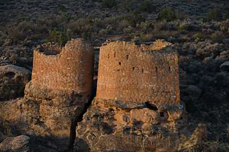Square Tower at the Hovenweep National Monument